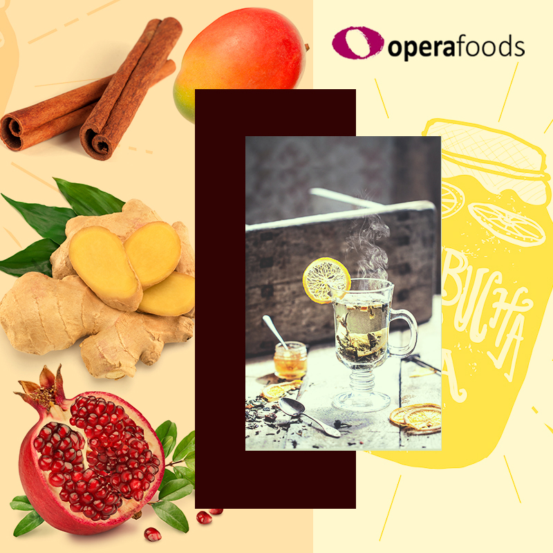 Order Sugar Free Organic Kombucha Drinks from Opera Foods.