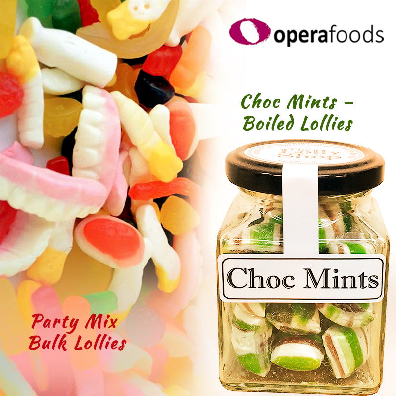 Opera Foods distribute bulk lollies including The Lolly Shop Brand