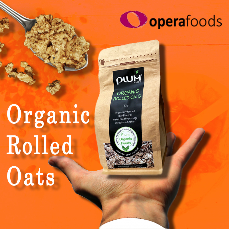 Organic Rolled Oats a Healthy Cereal That Boosts the Immune System