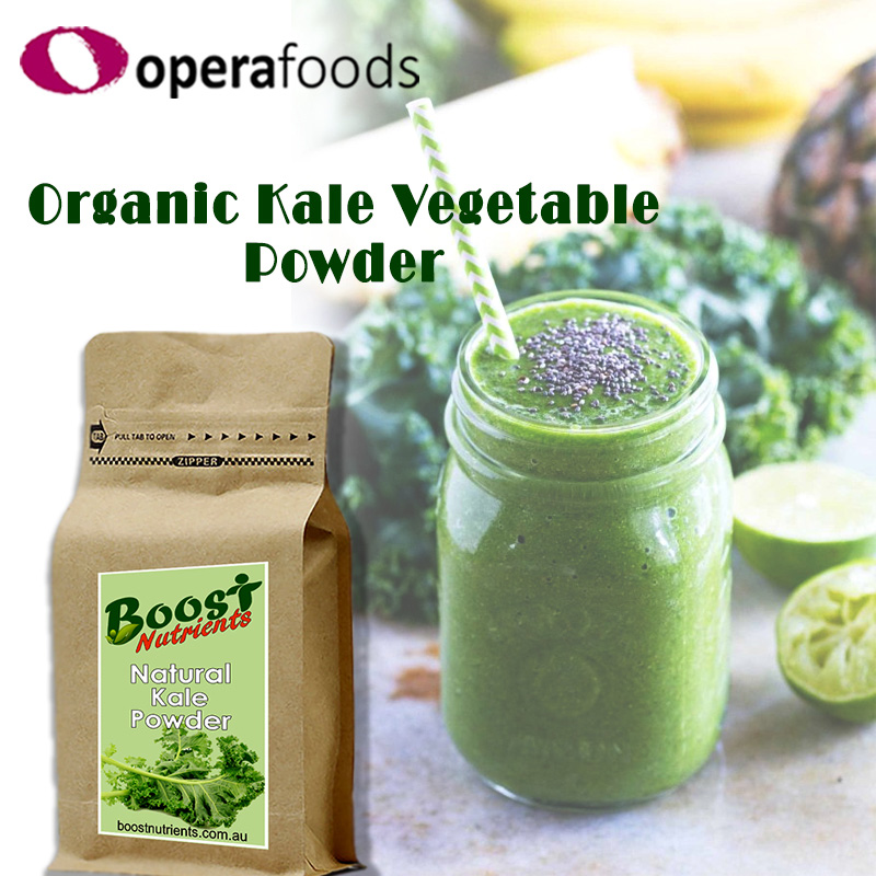 Organic kale vegetable powder