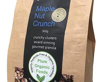 Maple Nut Crunch Granola 1kg Crunchy Clusters - Plum Foods